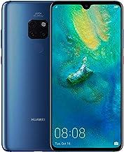 هاتف هاواوي ميت 20 بشريحتي اتصال - سعة 128 جيجابايت، الجيل الرابع ال تي اي، ازرق