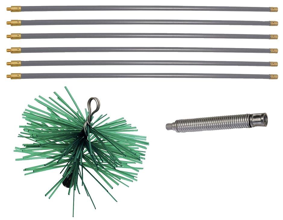 シンボル毒性凝視【Amazon.co.jp 限定】KS TOOLS 煙道掃除ツールキット 8個 Flue cleaning tool kit 8 pcs 900.6000