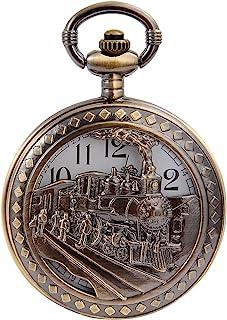 ساعت مچی کودکان و نوجوانان کوارتز آویز جیب ساعت با زنجیره ای