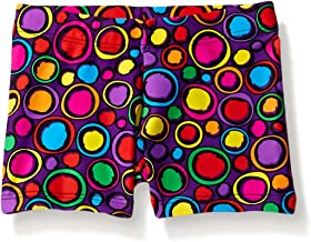 Gia Mia Dance Girls' Big Remix Print Short