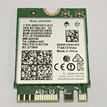 Intel Dual Band Wireless-AC 8265 ワイヤレス 802.11ac 867Mbps Dual band 2x2 WiFi + Bluetooth 4.2 カード 8265NGW