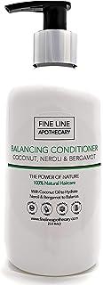 Natural ACONDICIONADOR - COCO NEROLI & BERGAMOTA - 250 ml - por Fine Line Apothecary - Sin sulfatos sin parabenos sin p...