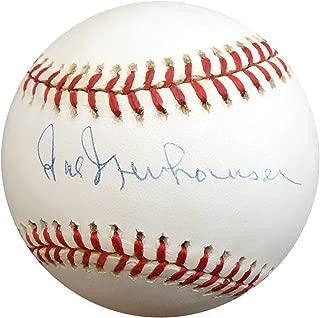 Hal Newhouser Autographed Official AL Baseball Detroit Tigers Beckett BAS #D20442