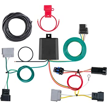 [SCHEMATICS_48YU]  Amazon.com: CURT 56330 Vehicle-Side Custom 4-Pin Trailer Wiring Harness,  Select Dodge Journey with LED Taillights: Automotive | Dodge Journey Trailer Wiring |  | Amazon.com