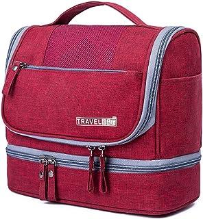 حقائب مكياج معلقة حقيبة أدوات الزينة للنساء هدية مثالية وملحقات السفر