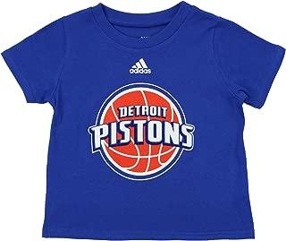 NBA Infants Detroit Pistons Short Sleeve Team Logo Tee, Blue