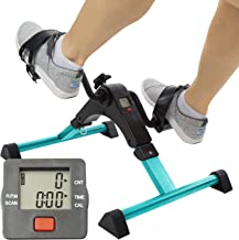 Vive Desk Bike Cycle – Foot Pedal Exerciser – Foldable Portable Foot, Hand,..