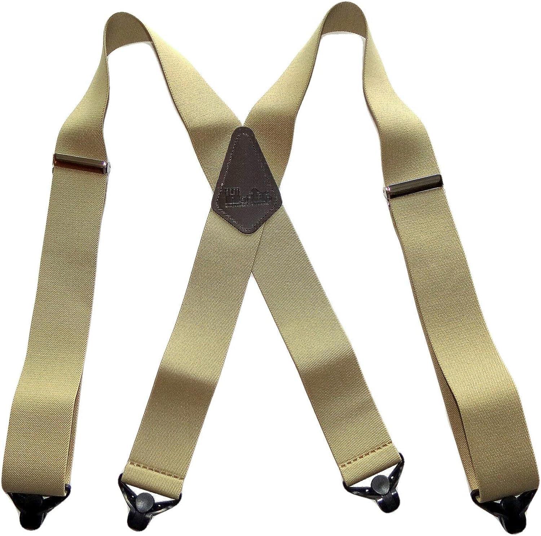 Holdup Contractor Series XL work suspenders in SunTan beige color with 2