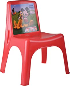 Disney Mickey Plastic Chair Toddler Childrens Playroom