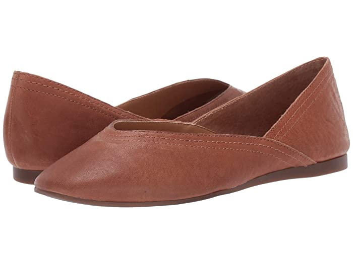 Lucky Brand  Alba (Umber) Womens Flat Shoes