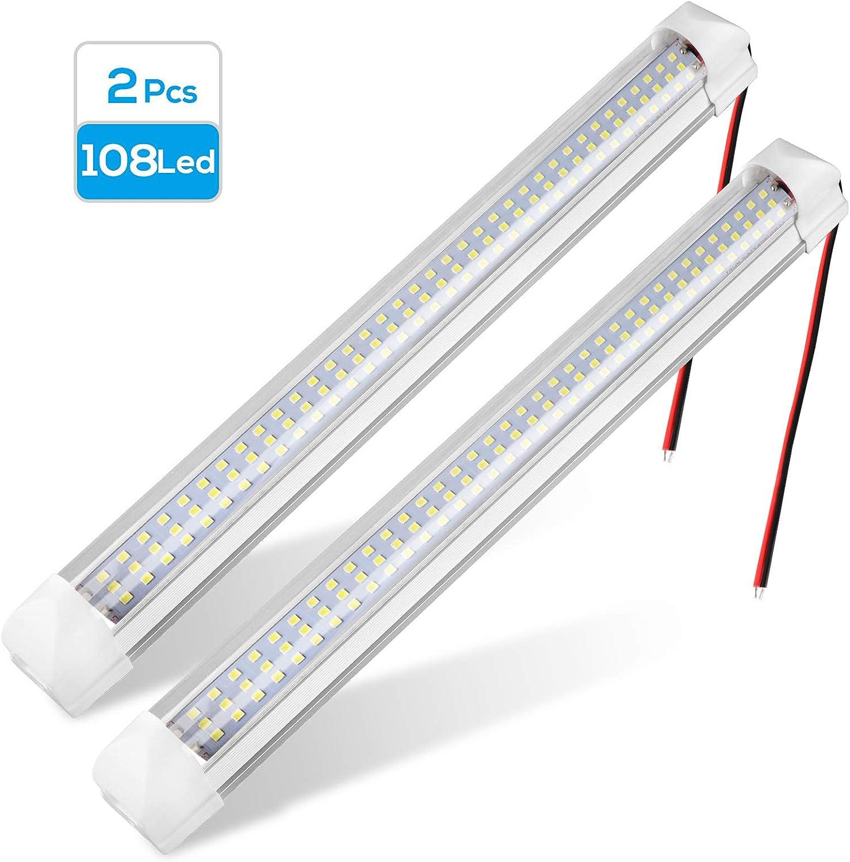 Very popular 108 LED Interior Light Bar Strip Lamp 12V Universal Over item handling