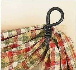 Park Designs Curtain Hooks - Iron - Forged Loop Pair