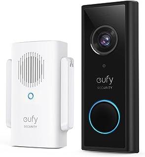 eufy Security, Draadloze videodeurbel (op batterij) met 2K HD, geen maandelijkse kosten, geïntegreerde AI voor menselijke ...