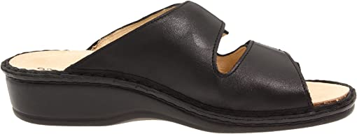Black Nappa Soft Footbed