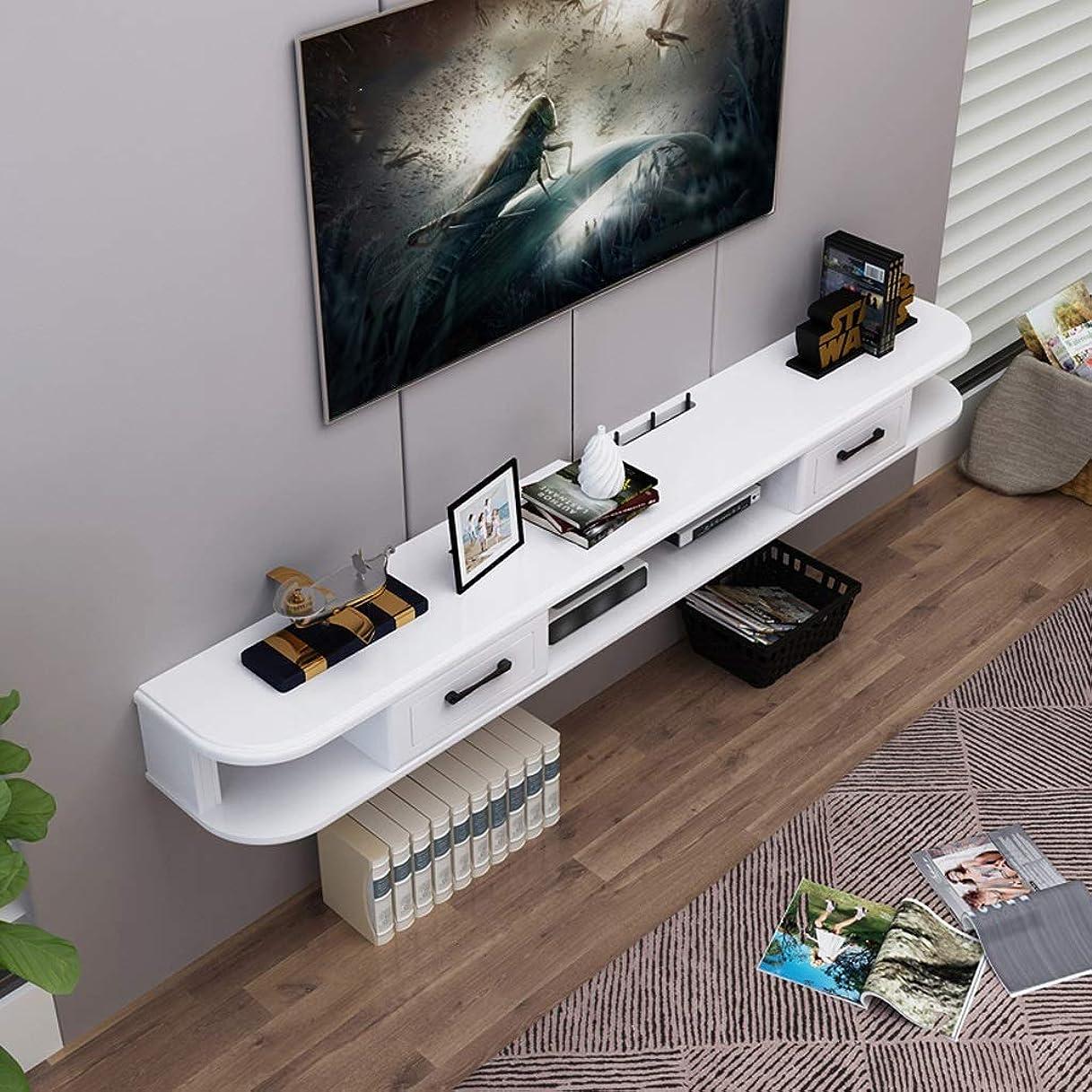 以降予約テンポ壁掛けテレビキャビネットテレビ棚ウォールシェルフフローティングシェルフセットトップボックスルーター写真玩具DVDプレーヤー棚本棚テレビコンソール (サイズ さいず : 120CM)