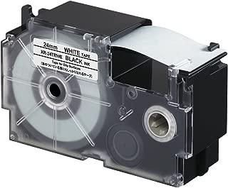 Casio XR-24TRWE Oil Resistant Tape, 5.5 m New, 0.05 kilograms