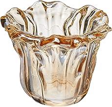 Vaso em Vidro Mart Champanhe Mart Collection