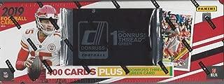 2019 Panini Donruss NFL Football Factory Set (400 cards + ONE Memorabilia card)