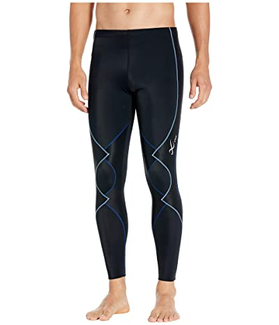 CW-X Expert Tights 2.0 (Black/Blue) Men