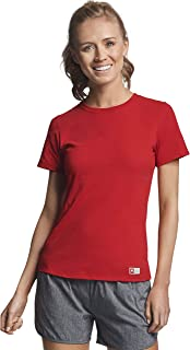 Russell Athletic Women's Essential Short Sleeve Tee, True red, M
