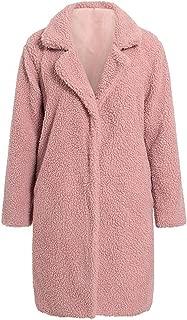 Luxury Faux Fur Women Coat Autumn Winter Thick Warm Plush Jacket Coats Streetwear Ladies Plus Size Outwear Coat