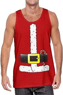 Santa Claus Costume - Kris Kringle St. Nick Men's Tank Top