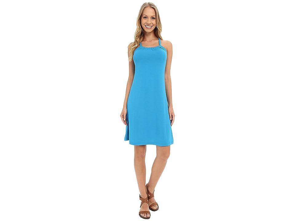 Prana Quinn Dress (Electro Blue) Women
