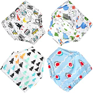 CottonTraining Pants 4 Pack Padded Toddler Potty Training...