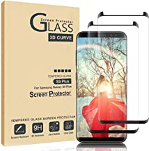 Comfort Valley Galaxy S9 Plus Screen Protector,Full Coverage Tempered Glass[2 Pack][3D Curved] [Anti-Scratch][High Definition] Tempered Glass Screen Protector Suitable for Galaxy S9 Plus