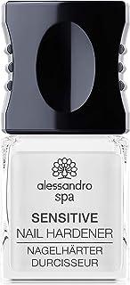 alessandro Spa Sensitive Nail Hardener - Endurecedor de uñas sin formaldehído, fortalece las uñas frágiles y finas, 10 ml