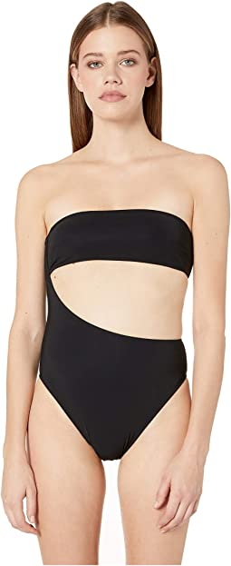 90s One-Piece Strapless