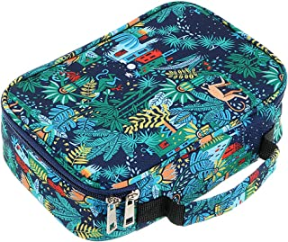 BTSKY High Capacity Zipper Pens Pencil Case with Pattern-Multi-Functional Stationery Pencil Pouch 36 Large Stretchy Slots ...