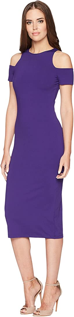 Racer Open Shoulder Dress