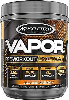 Pre Workout Powder | MuscleTech Vapor One Pre-Workout | Preworkout Powder for Men & Women + Muscle Builder | Creatine Mono...