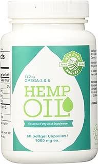 Manitoba Harvest Hemp Oil, 60 Softgel Capsules (Pack of 3)