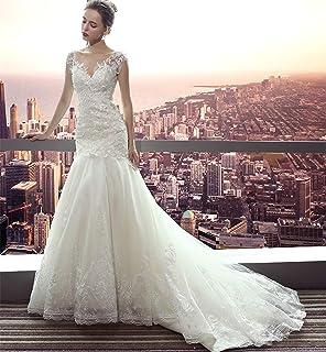 914cb4e6454 Amazon.fr   Avec - Robes de mariage   Vêtements de mariage   Vêtements