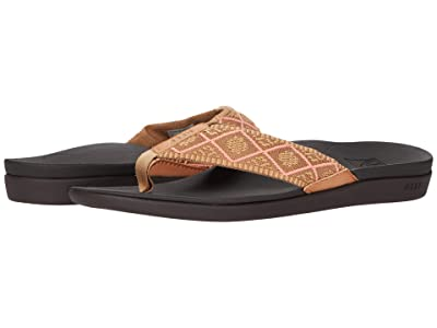 Reef Ortho-Woven (Coral) Women