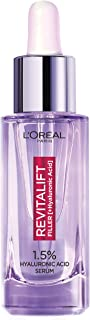 L'Oreal Paris Hyaluronic Acid Serum Revitalift Filler [+Hyaluronic Acid], 1.5% Pure Concentrated Hyaluronic Acid Dropper S...