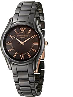 Emporio Armani Women's Quartz Watch AR0379 with Metal Strap