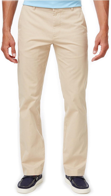 Tommy Hilfiger Men's Dot-Pattern Cotton Pants