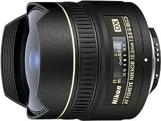 Nikon AF DX Fisheye-Nikkor 10.5mm f/2.8G ED Lens for Nikon SLR Cameras