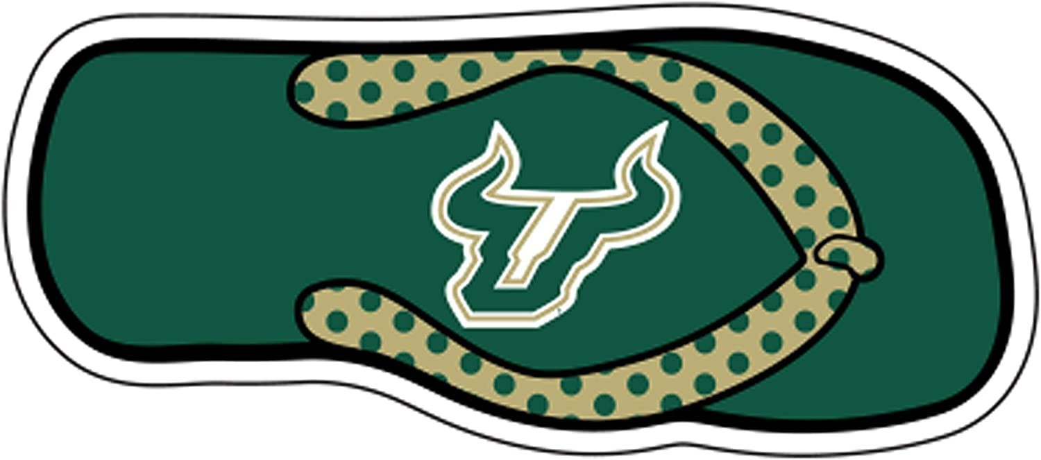 RR USF Bulls 4 Round Vinyl Magnet Auto Home University of South Florida