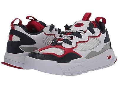 Supra Muska2000 (White/Navy/Red/White) Shoes