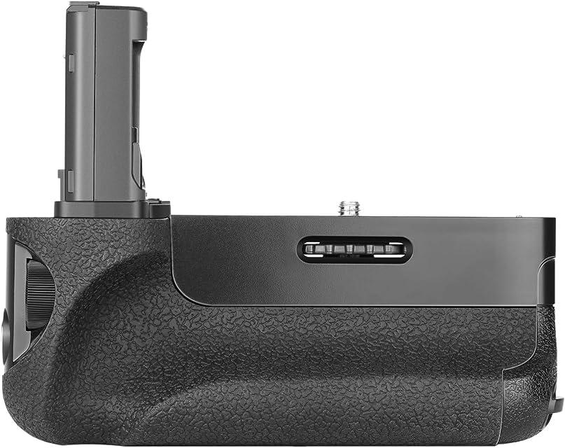 Neewer Vertical Empuñadura de Batería (Reemplazo para VG-C1EM) para Cámaras Sony Alpha A7 A7R A7S DSLR Compatibles con Batería NP-FW50 (Batería No Incluida)