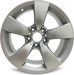 Road Ready Car Wheel For 2004-2007 BMW 525i BMW 530i 2006-2010 BMW 528i BMW 550i 2008-2010 BMW 535i 17 Inch 5 Lug Gray Aluminum Rim Fits R17 Tire - Exact OEM Replacement - Full-Size Spare