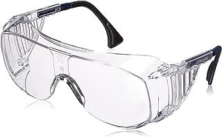Uvex S0112C Ultra-spec 2001 OTG Safety Eyewear, Clear Frame, Clear UV Extreme Anti-Fog Lens