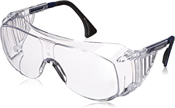 UVEX by Honeywell 763-S0112C Ultra-spec Series 2001 OTG Eyewear, Clear Frame, Clear Lens, Uvextreme Anti-fog Coating