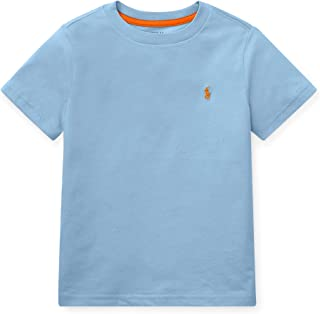 Kids Boy's Cotton Jersey Crew Neck T-Shirt (Little Kids/Big Kids)