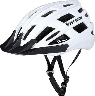 Adult Cycling Bike Helmet Men Women, Adjustable Cycling Helmet, Breathable Lightweight Mountain Road Bicycle Helmet with D...