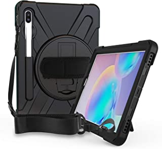 Rugged Cover for Samsung Galaxy Tab S6 10.5 Case Shockproof Heavy Duty Full Body Protective 10.5-inch Tough Bumper Shell w...